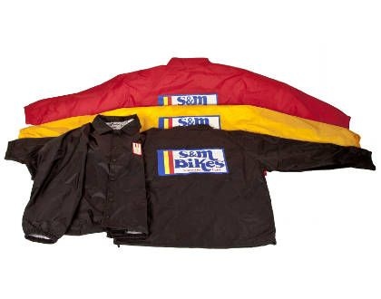 S&M Gold Medal Moto Jacket Red XL