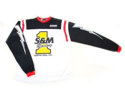 S&M Retro #1 Race Jersey (USA Made) Large