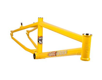 "S&M Steel Panther 24"" Cruiser Frame 21.5"" Yellow"