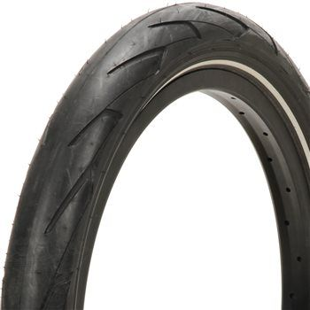 Stranger Haze Tyre - Black With Reflective Strip 2.40""