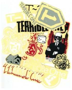 T1 Assorted sticker pack