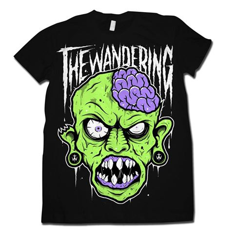The Wandering Zombie Kid T-Shirt - Medium