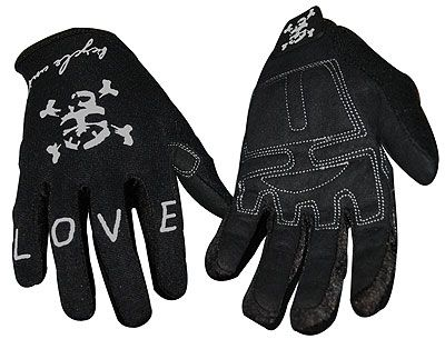Union Cuff Less Glove Black Large