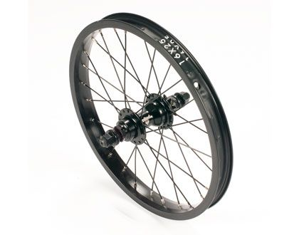 "United Supreme 16"" Rear Wheel Black"