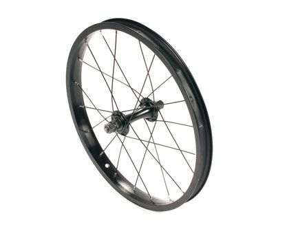 "United Supreme 18"" Front Wheel Black"