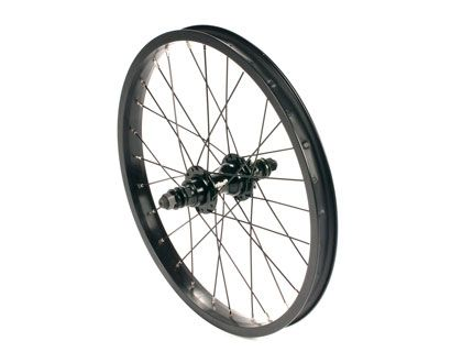 "United Supreme 18"" Rear Wheel Black"